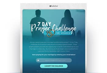 7 Day Prayer Challenge for Spouses