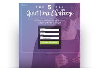 5 Day Quiet Time Challenge