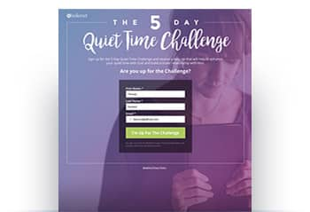 5 Day Quiet Time Challenge