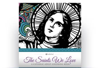 """The Saints We Love"" Coloring Book"