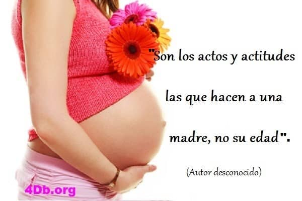 reflexiones para mujeres embarazadas solteras