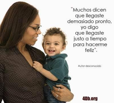 Frases De Amor Para Madres Jovenes Solteras Has Llegado A Mi Vida