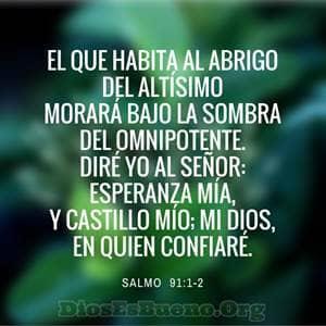 Salmo 91 oración guiada, El que habita.