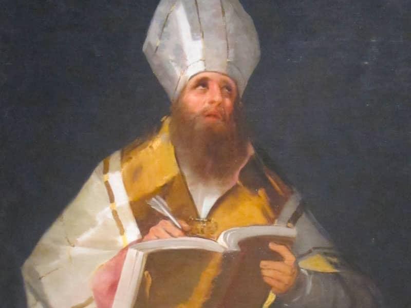 St. Ambrose (340?-397)