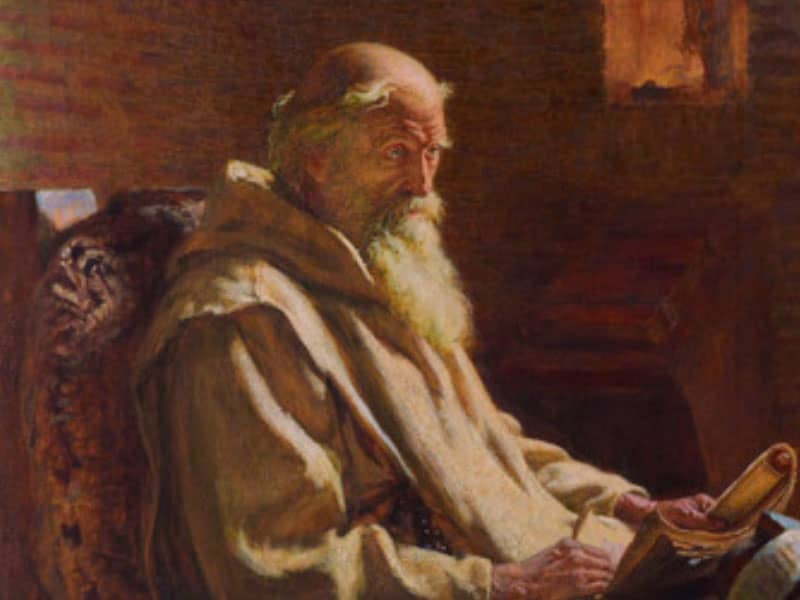 St. Bede the Venerable (672?-735)
