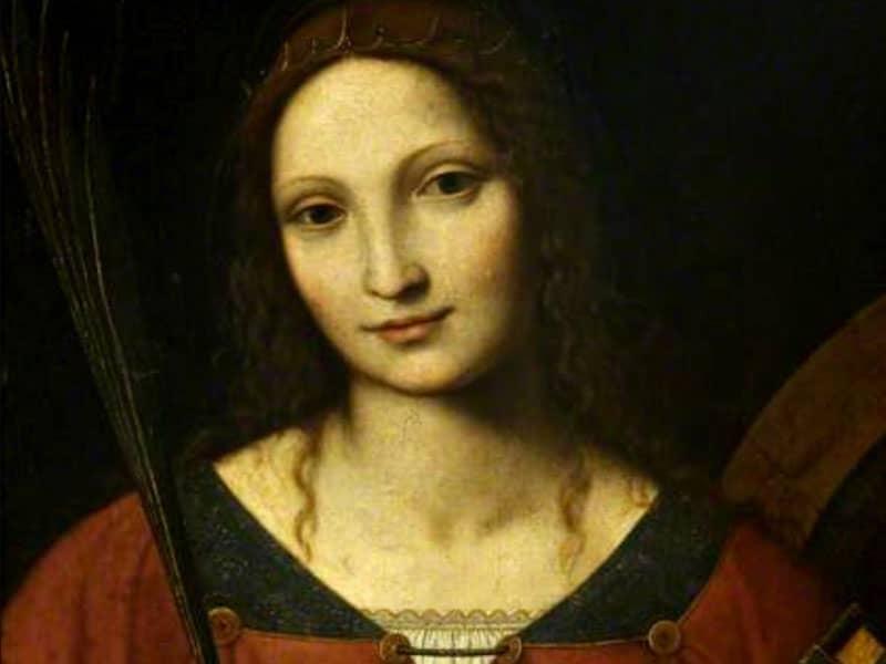 St. Catherine of Alexandria (c. 310)