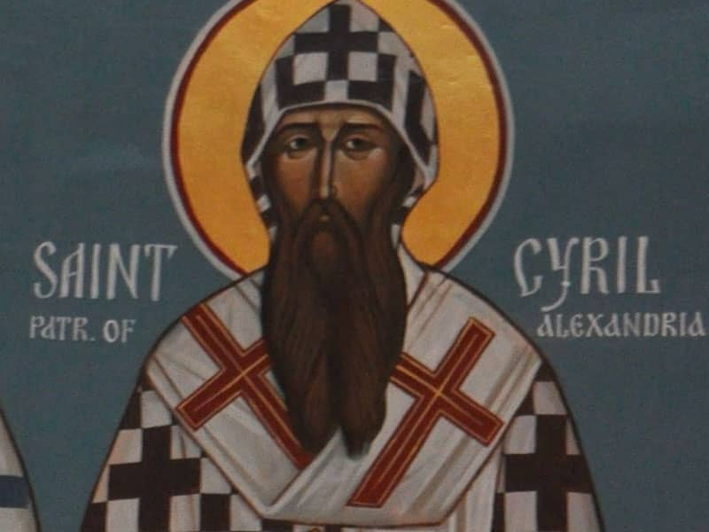 St. Cyril of Alexandria (376?-444)
