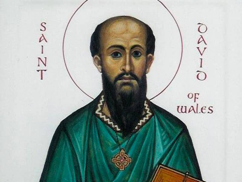 St. David of Wales (d. 589?)