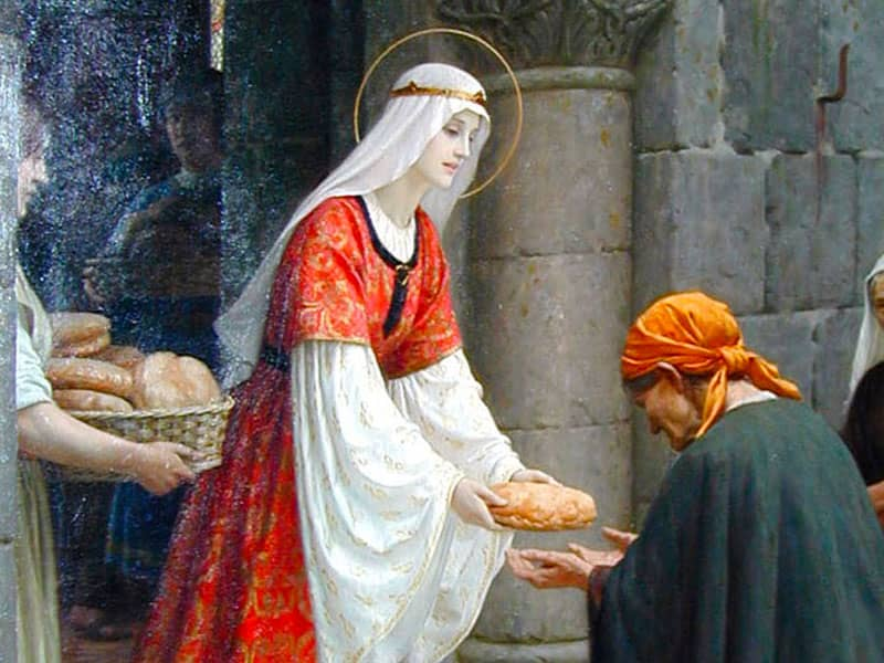 St. Elizabeth of Hungary (1207-1231)