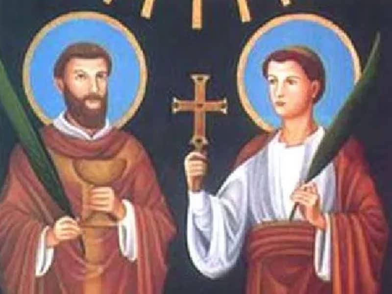 Sts. Marcellinus and Peter (d. 304)
