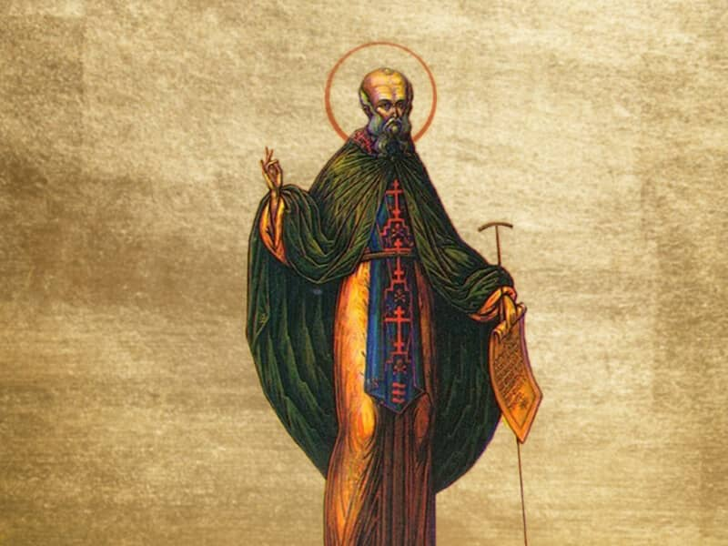 St. Sabas (b. 439)
