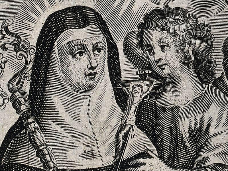 St. Scholastica (480-542?)