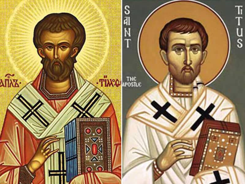 Sts. Timothy and Titus