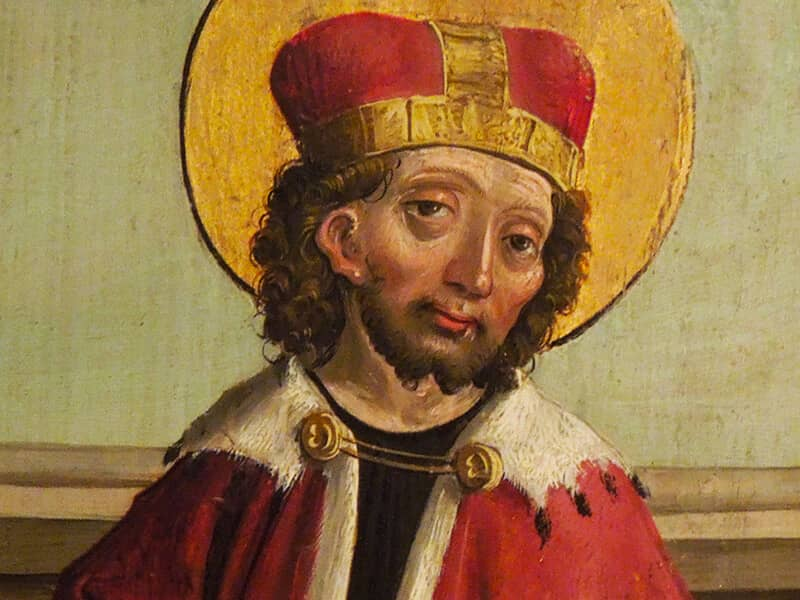 St. Wenceslaus (907?-929)