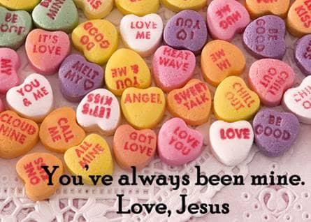 Jesus, Valentines,