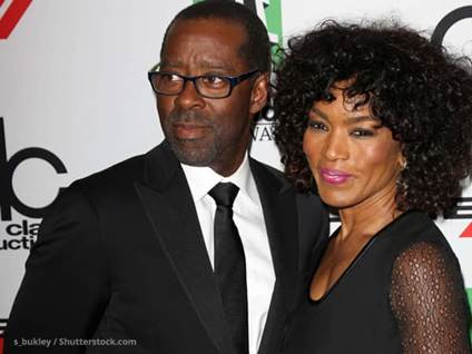 Angela Bassett and Courtney Vance