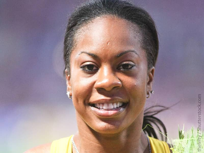 Christian Olympians, Sandra Richards, Christian Athletes
