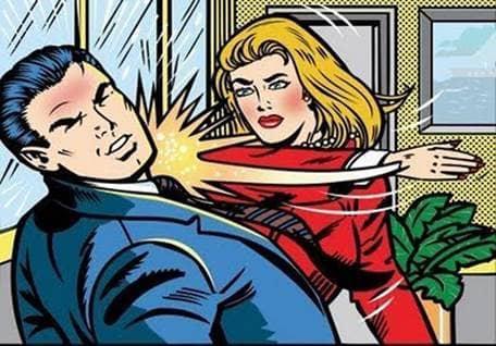 comic slap