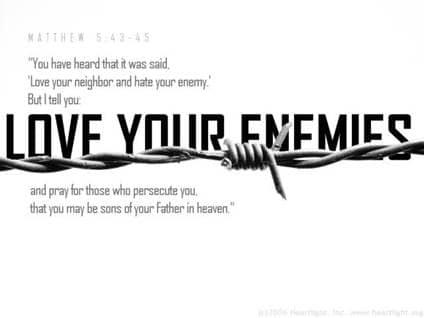 love yr enemy