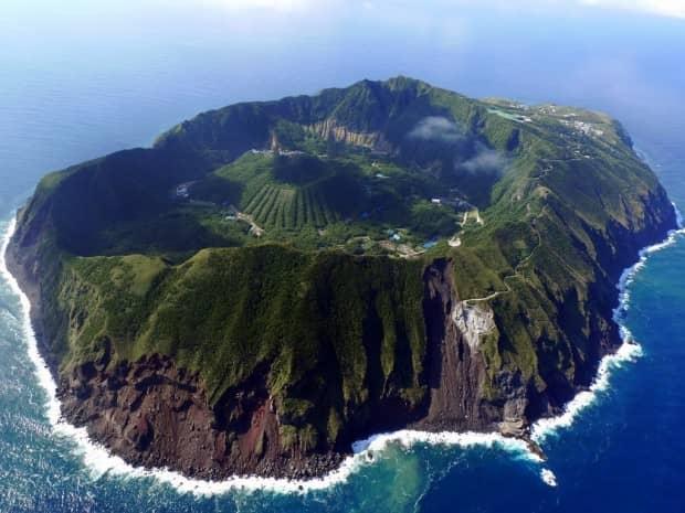 volcano, japan