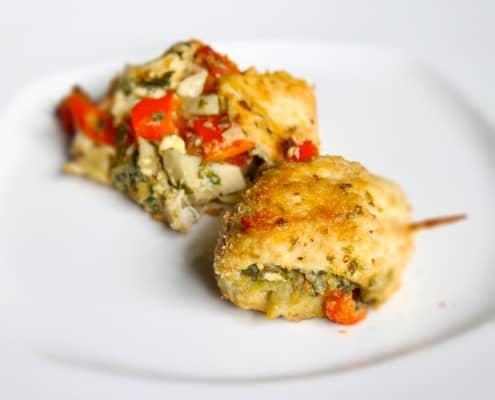 Pesto Chicken Rolls