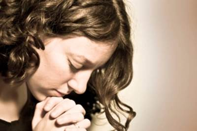 woman, praying, faith