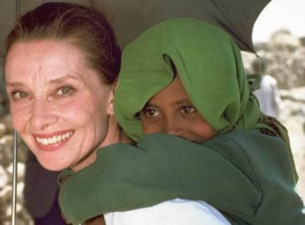 Audrey Hepburn, Inspiring volunteer, National Volunteer week, Beliefnet most inspiring