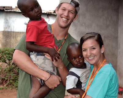 Clayton and Ellen Kershaw, inspiring volunteers, national volunteer week, beliefnet most inspiring