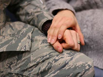 Military member and spouse