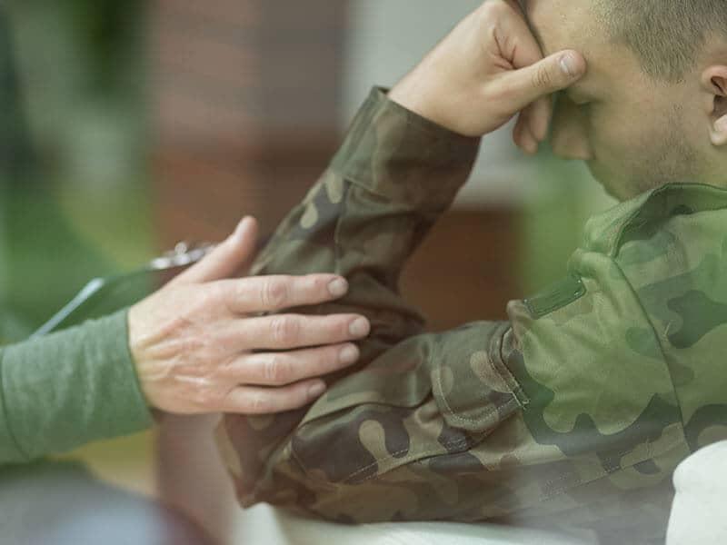Stressed Military Member