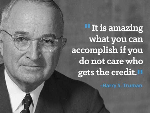 Harry truman quotes