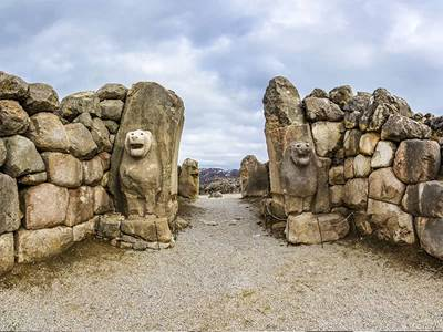 Hittite Lion Gate