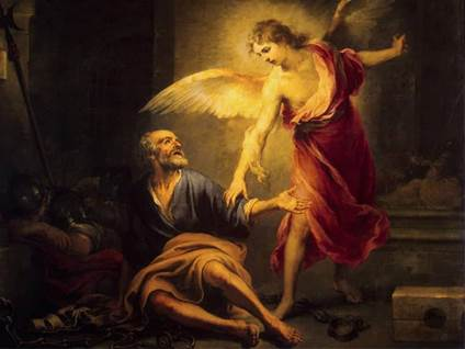 angel liberation of saint peter