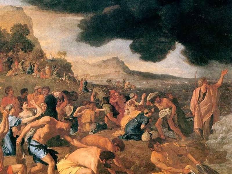 angel leading exodus