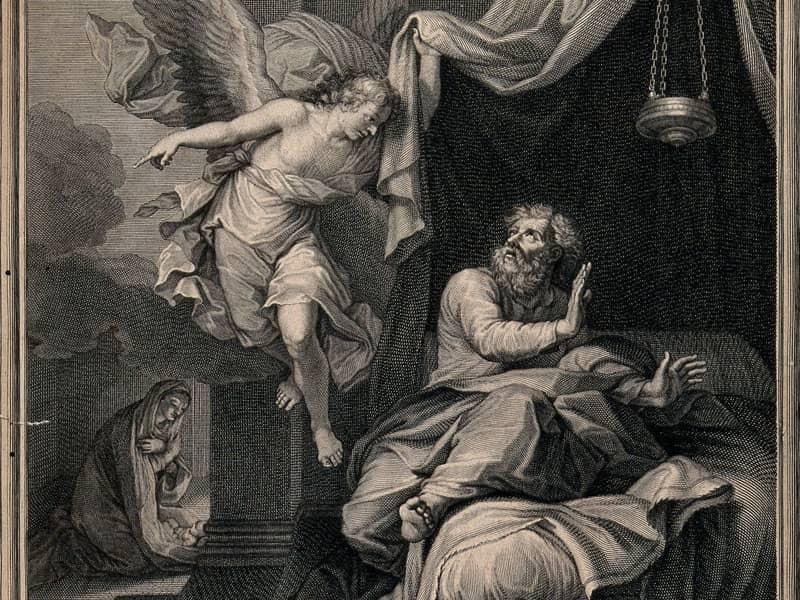 angel wakes mary and joseph