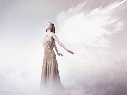 Angel in Cloud