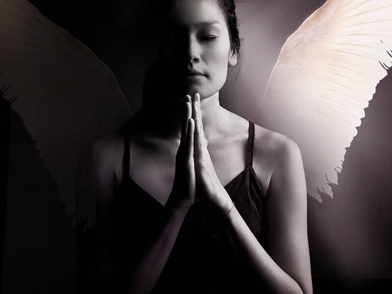 Female Angel Praying