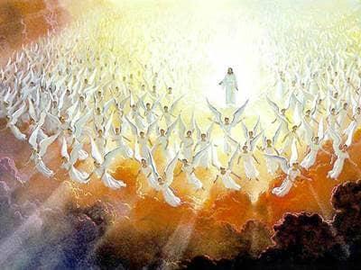 Angels Surrounding Jesus