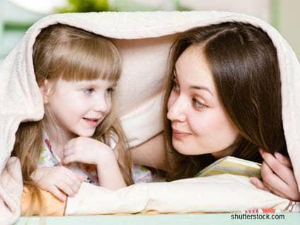 mother daughter blanket