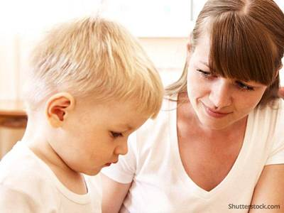mother son patience parenting