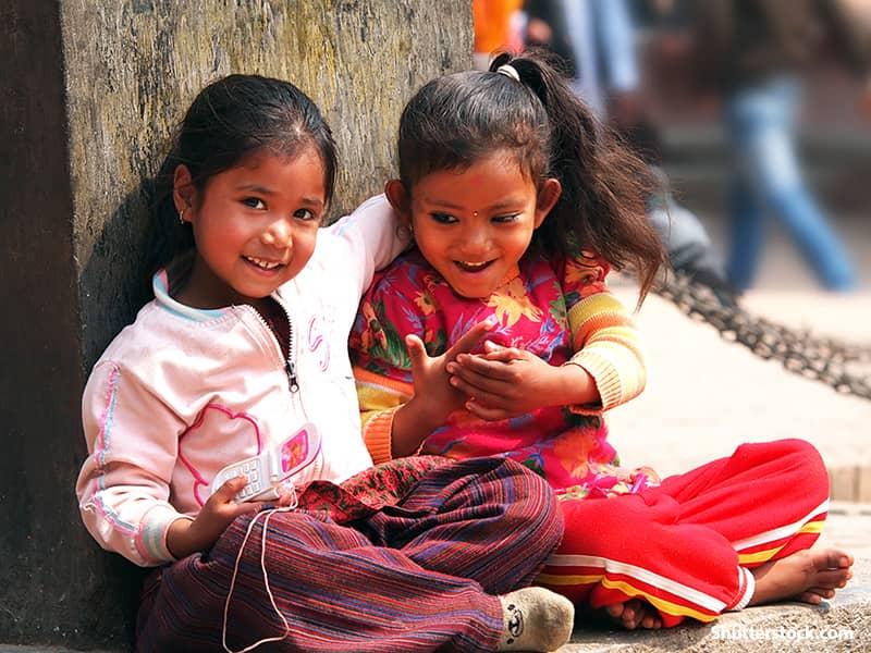 people hindu children