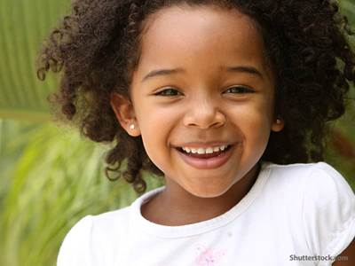 people little girl smiling