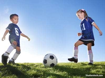 sports children soccer
