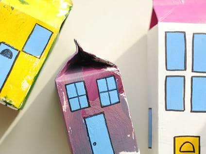 Milk Carton House _