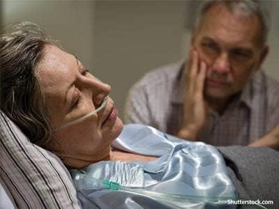 health elderly woman sick