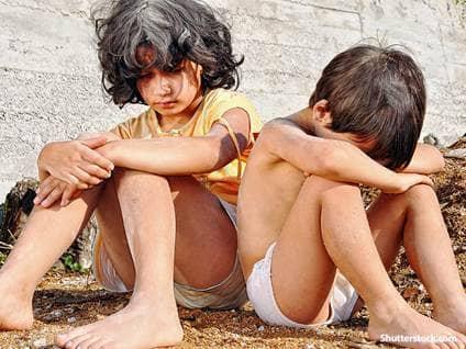 people children poverty