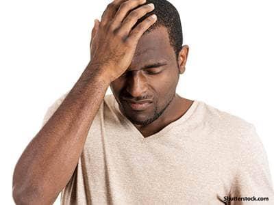 people depressed man