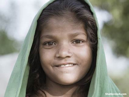 people poverty girl