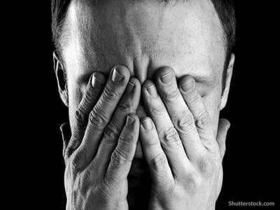 people stressed man