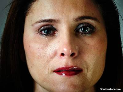 people woman crying